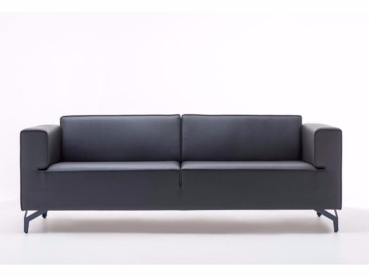 Leather sofa NEO | Sofa by ersa