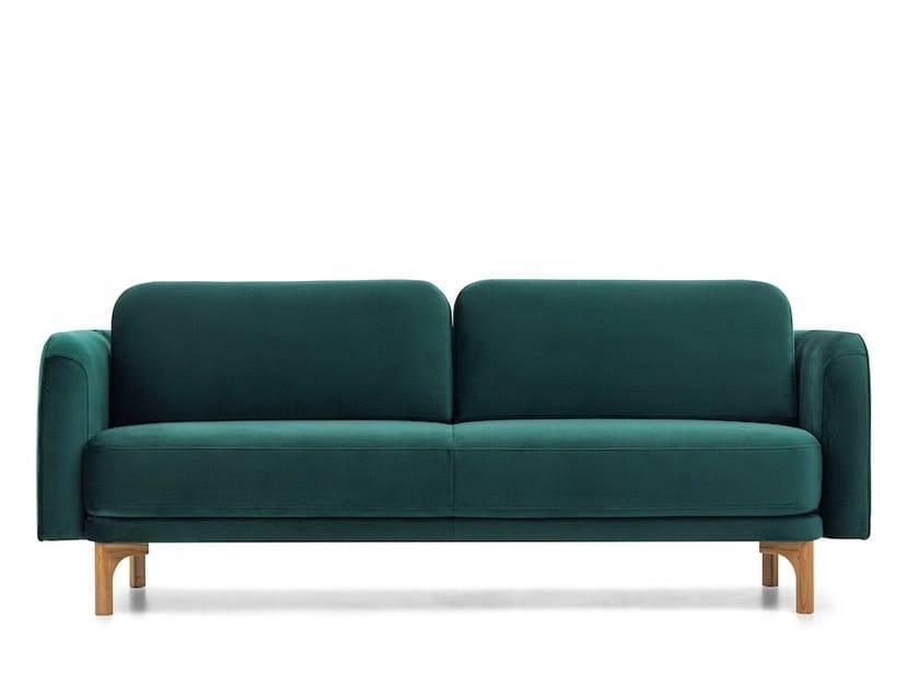 2 seater fabric sofa LOOP   Sofa by Extraform