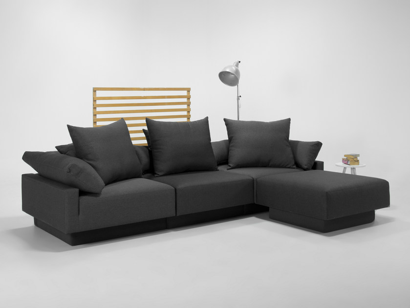 Modular convertible sofa with removable cover CUBAN | Sofa by Feydom
