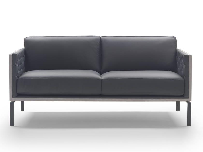 3 seater leather sofa CONNOR   Sofa by Marelli