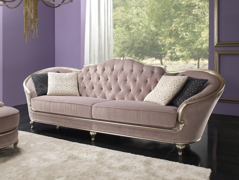 Tufted fabric sofa EDEN | Sofa by Gold Confort
