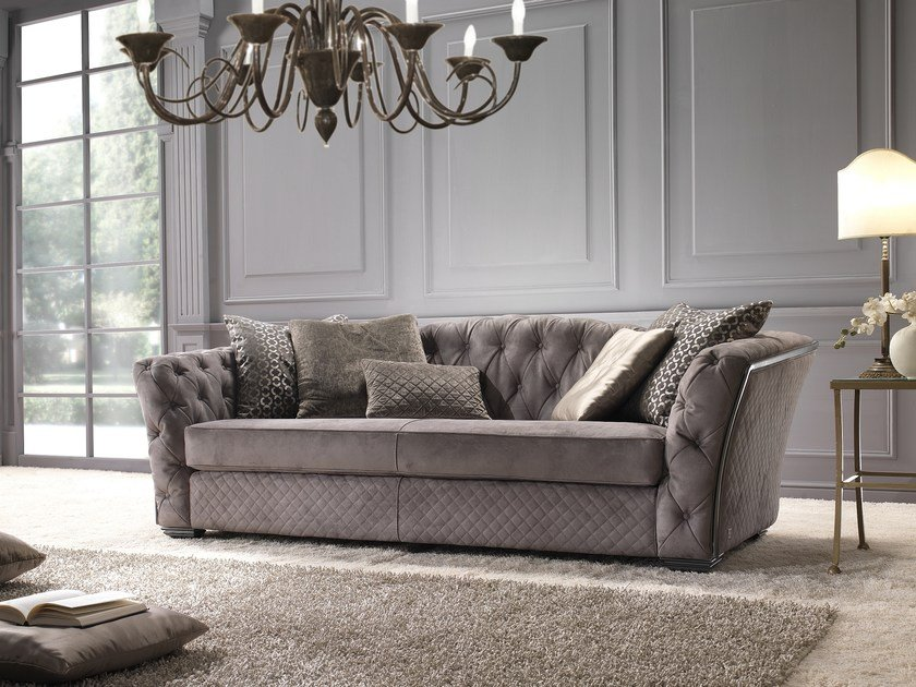 Tufted leather sofa FASHION | Sofa by Gold Confort
