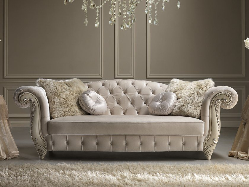 Tufted fabric sofa ROMANTIC | Sofa by Gold Confort