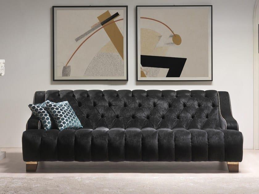Tufted fabric sofa BRIGITTE | Sofa by Gold Confort