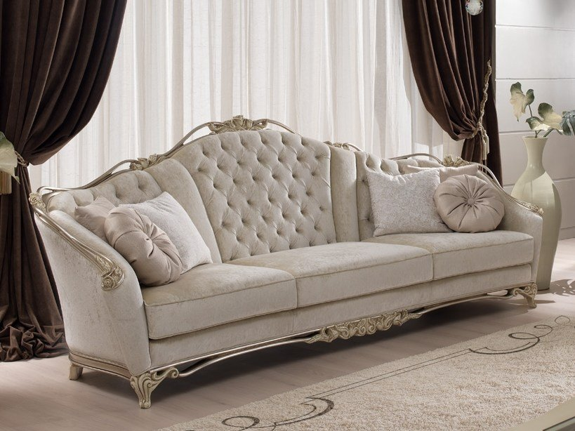 Beau Tufted Fabric Sofa ROSE | Sofa By Gold Confort