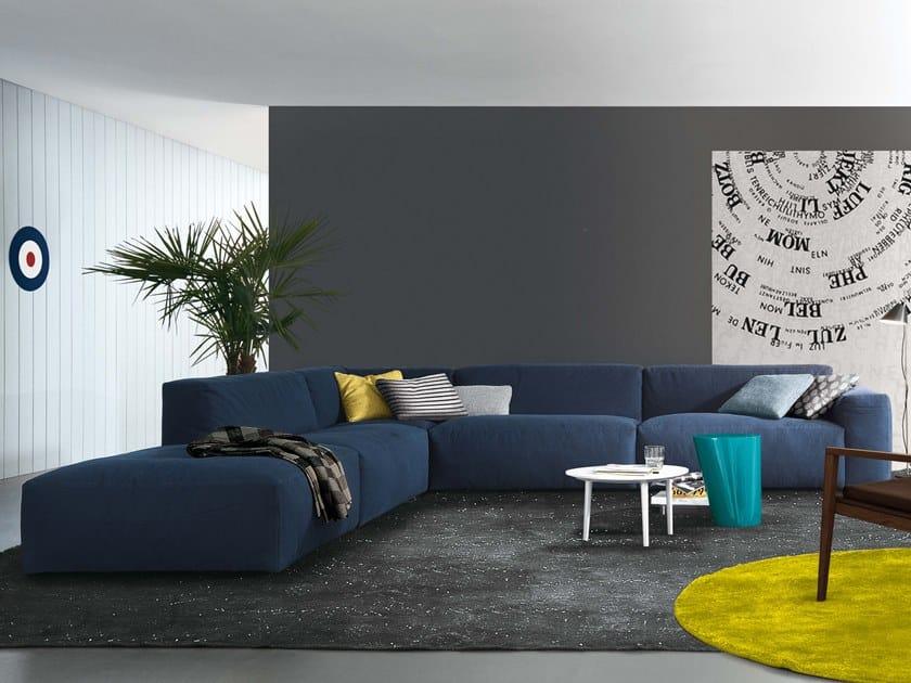 Corner sectional fabric sofa DANIEL | Corner sofa by JESSE