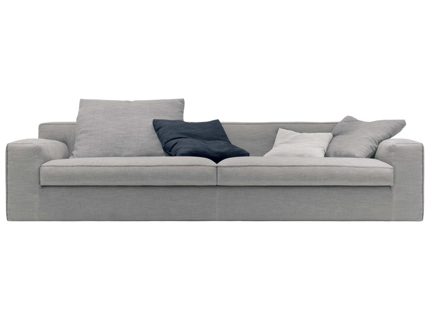 3 seater fabric sofa LECLUB | Sofa by JESSE