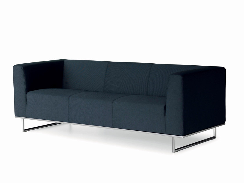 Upholstered fabric sofa CHIC | Sofa by Luxy