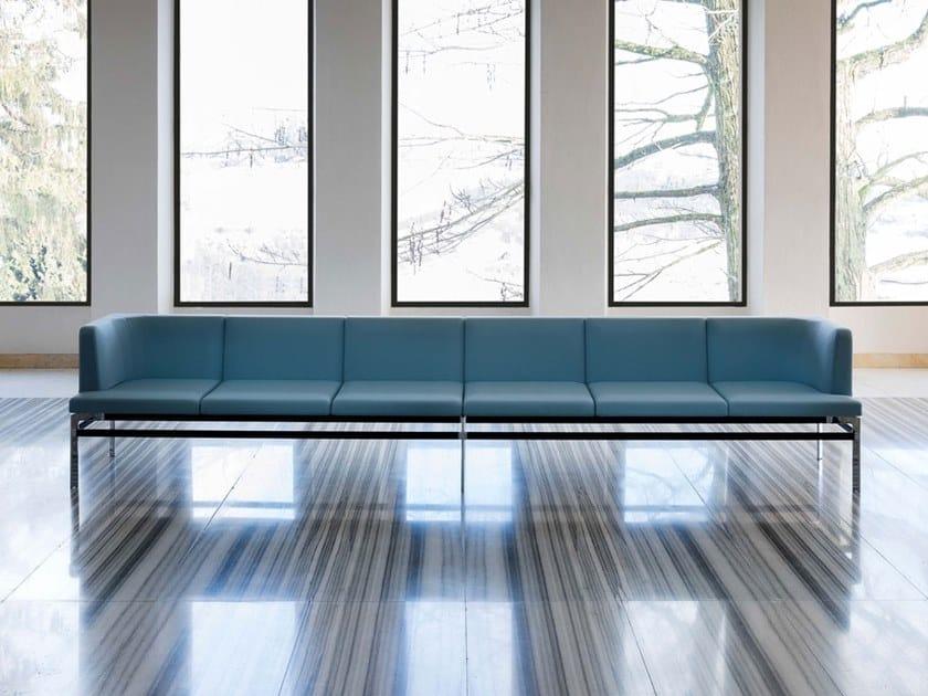 Sectional fabric sofa PONTE | Sofa by Luxy