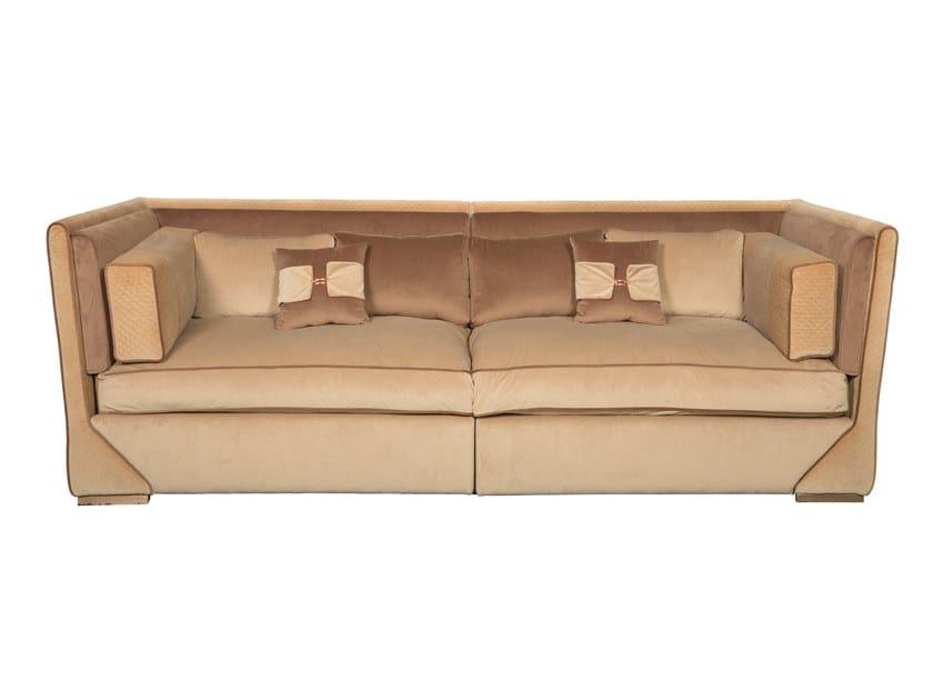 3 seater microfiber sofa COCKTAIL | Sofa by Stylish Club