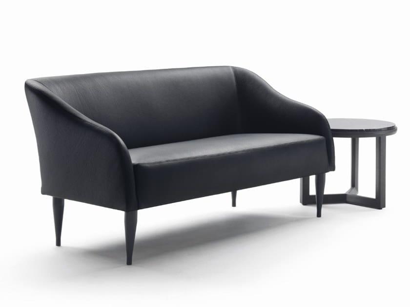 2 seater leather sofa WISTON | Sofa by Marac