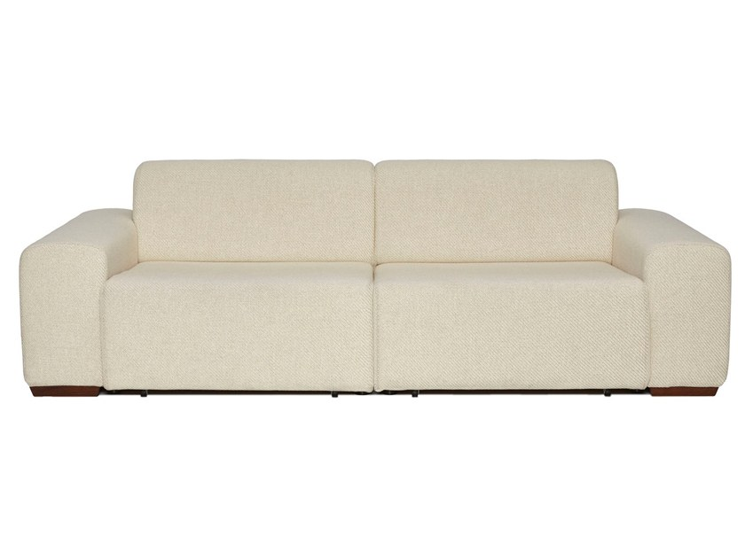 2 seater fabric sofa with electric motion BUDAPEST | Sofa by moovia