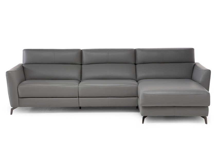 Sofa With Chaise Longue Stan By Natuzzi
