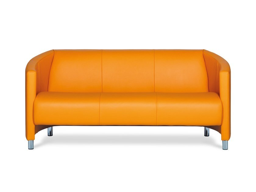 3 seater leather sofa GRECO | 3 seater sofa by Neology