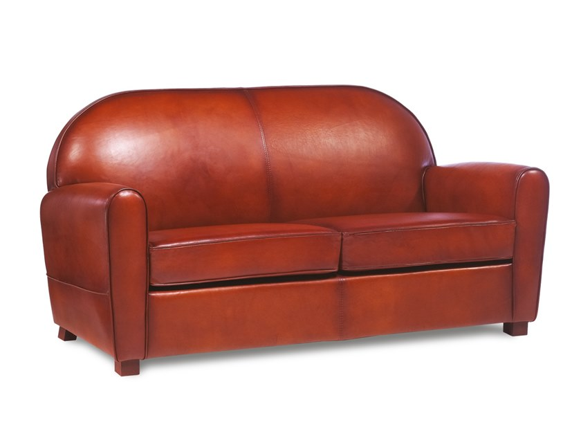 2 seater leather sofa CLAYTON | Sofa by Neology