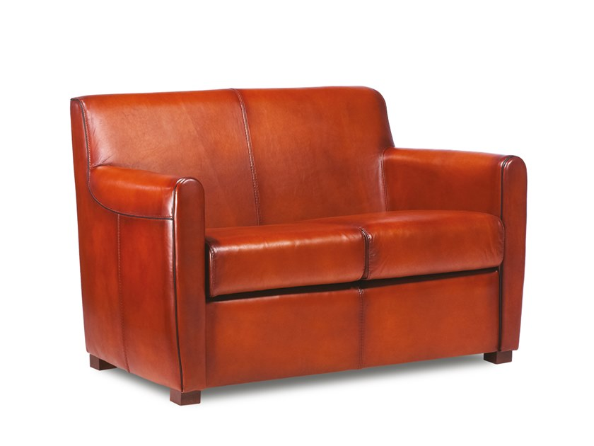 2 seater leather sofa COOPER | Sofa by Neology