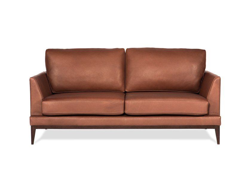 2 seater leather sofa OPERA | Sofa by Neology