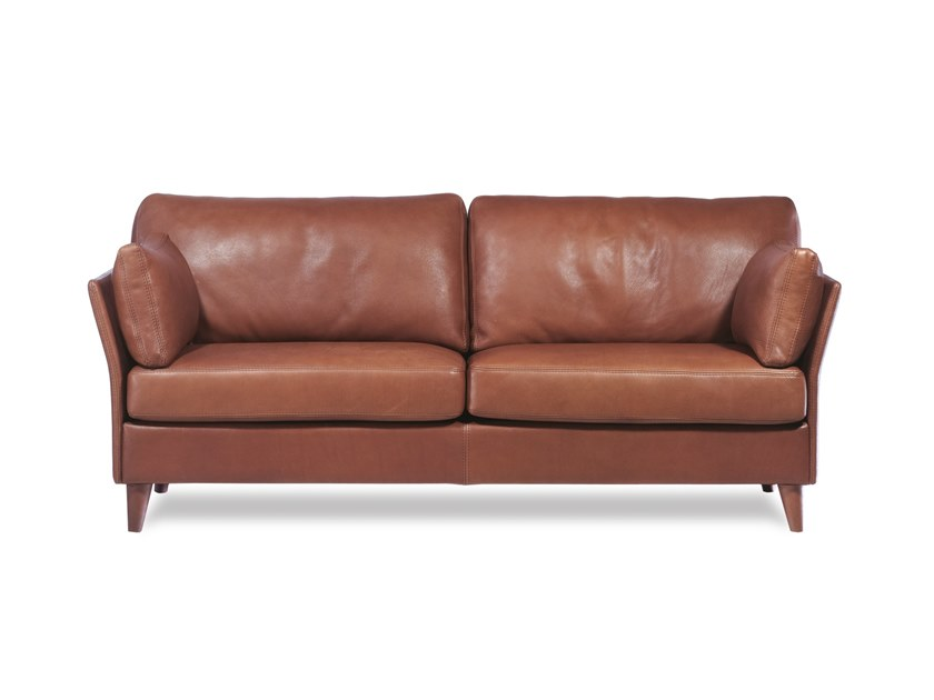 2 seater leather sofa RIVOLI | Sofa by Neology