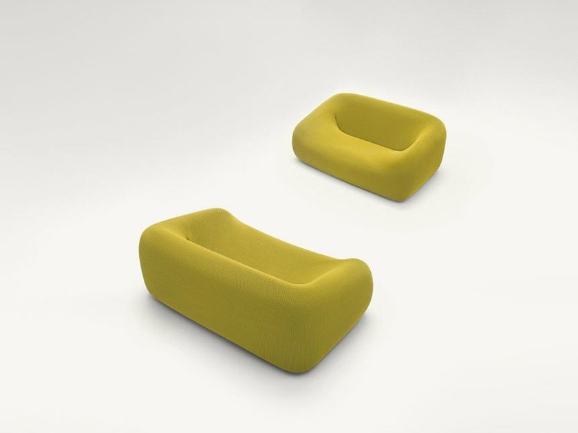 Polyester small sofa SMILE | Small sofa by paola lenti
