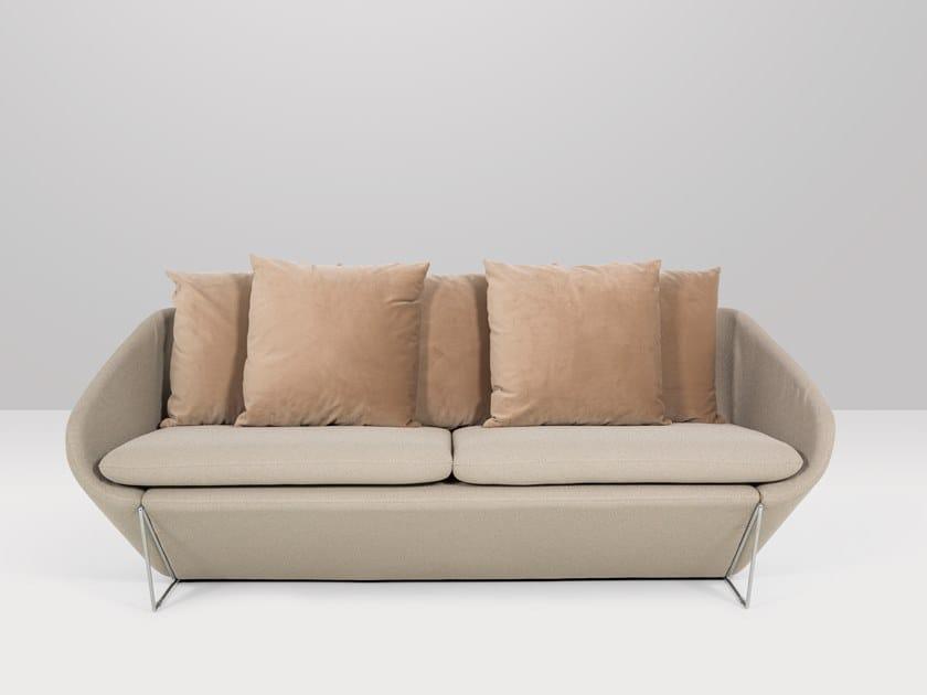 3 seater fabric sofa BRUNELLO | Sofa by Recor Home