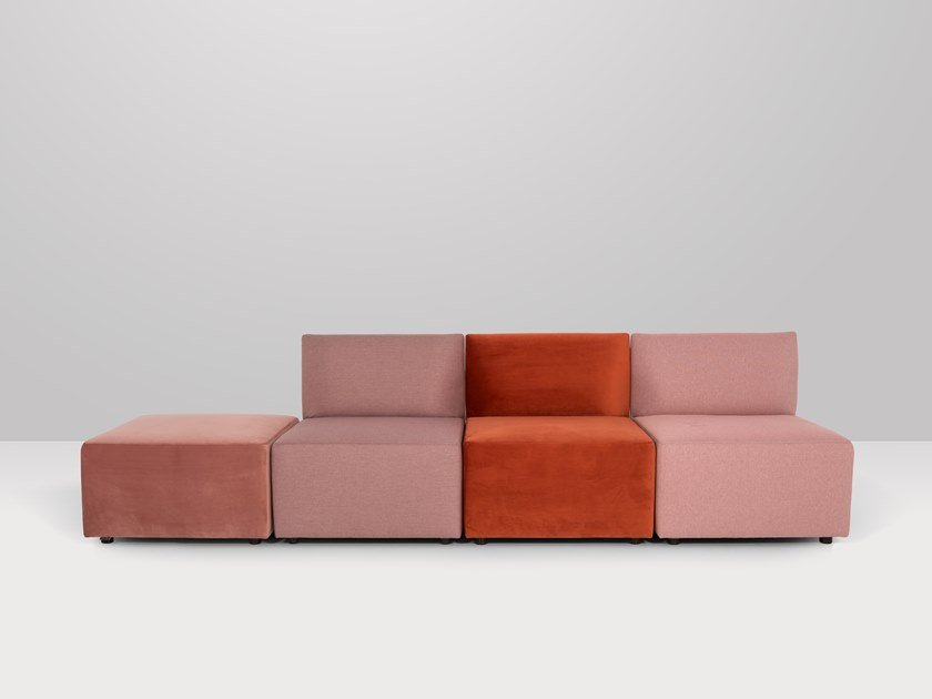 Modular fabric sofa CENTRAL | Sofa by Recor Home