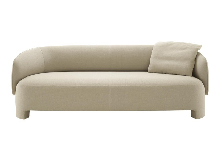 3 seater fabric sofa with removable cover TARU | Sofa by Ligne Roset
