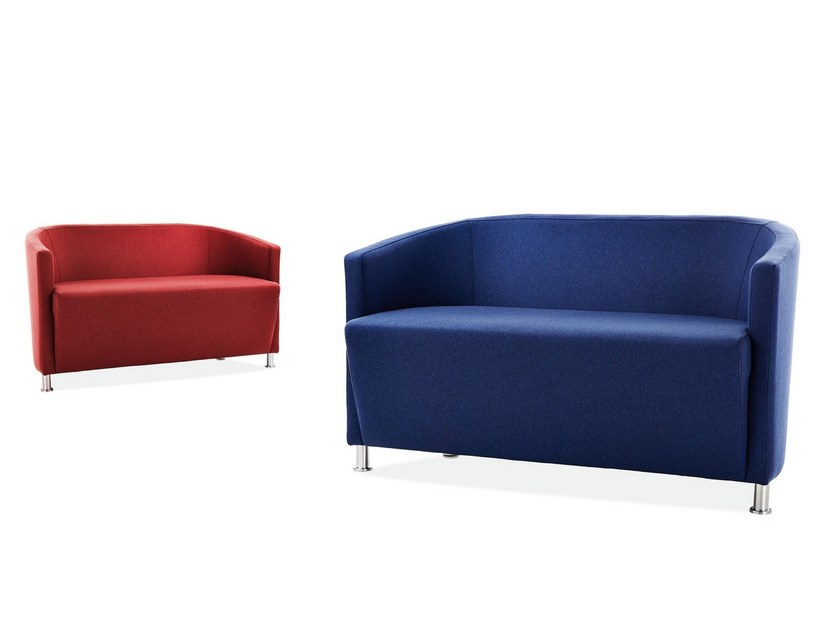 Fabric small sofa AXEL | Small sofa by Sedex