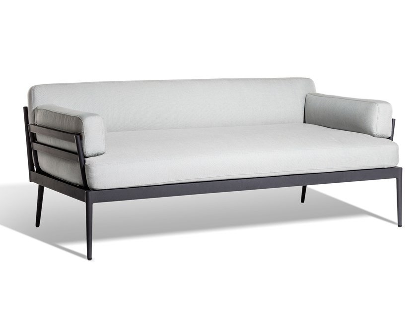 Upholstered Sunbrella® garden sofa ANHOLT | Garden sofa by Skargaarden