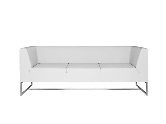 Sled base sofa PARALLELS | Sofa by SMV