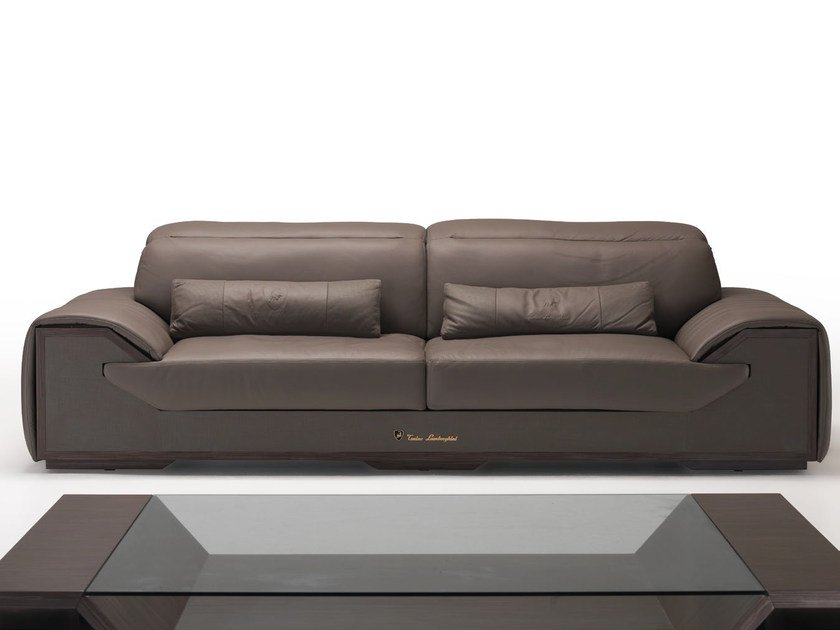 Upholstered 3 Seater Leather Sofa LONG RACE | Sofa By Tonino Lamborghini  Casa