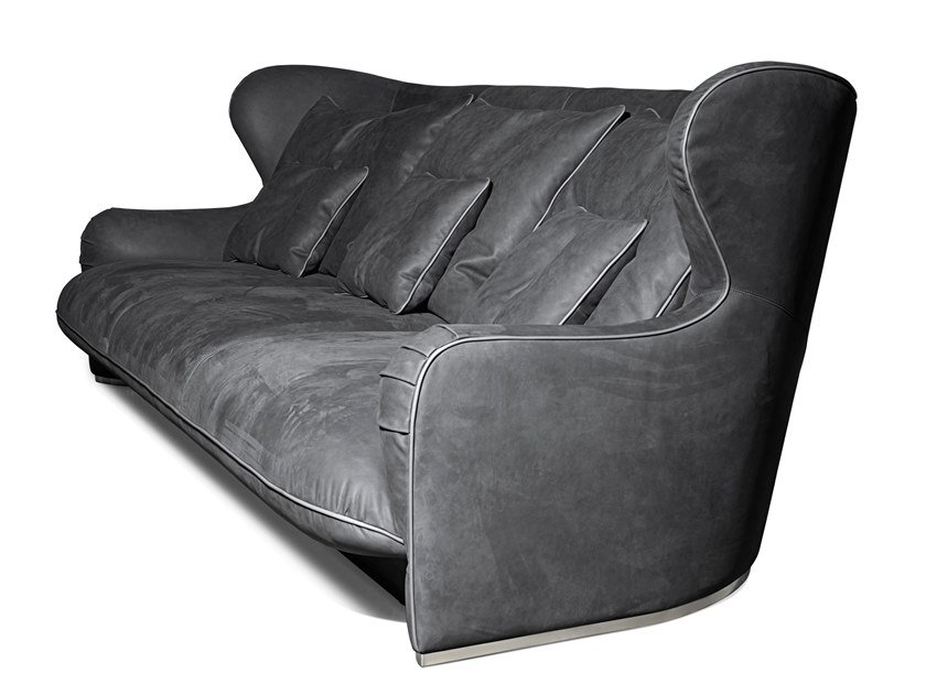 4 seater fabric sofa BALANCE | Sofa by Visionnaire
