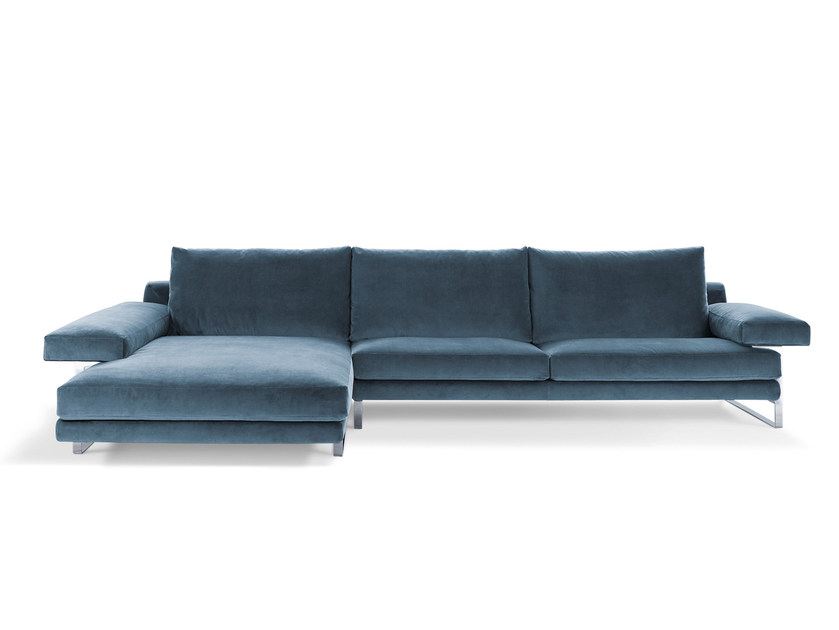 Sectional fabric sofa EGO | Sectional sofa by Arketipo