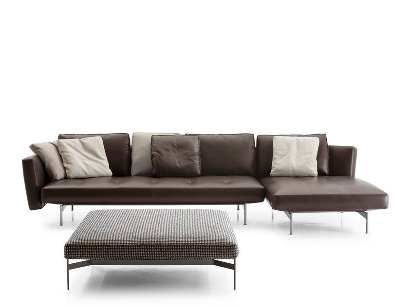 SAKÉ | Sofa with chaise longue