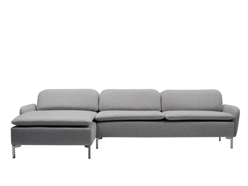 Divano con chaise longue GROOVY | Divano con chaise longue by SOFTREND