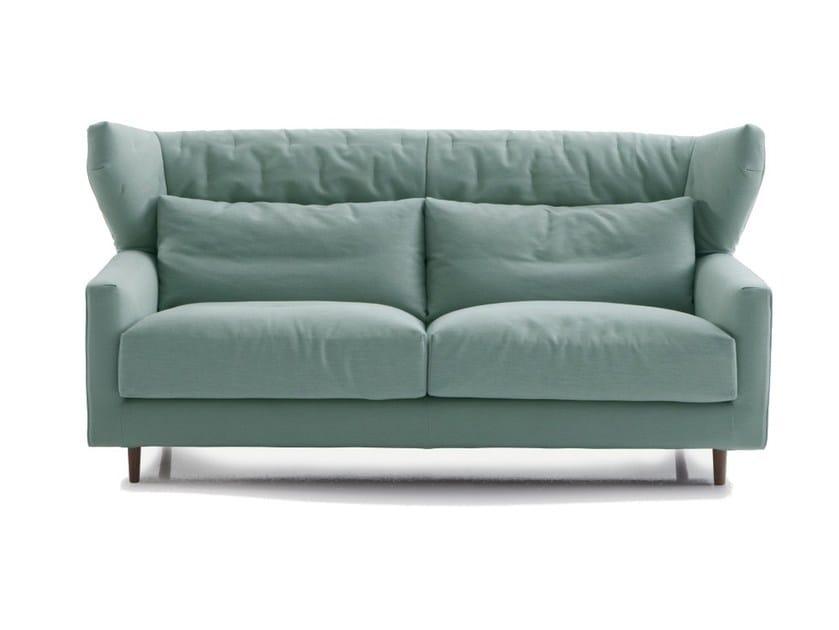 Fabric Sofa With Headrest Folk By Sancal
