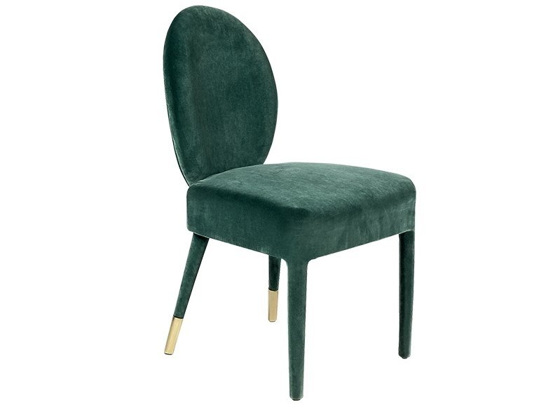 Upholstered velvet chair SOFIA | Chair by Paolo Castelli