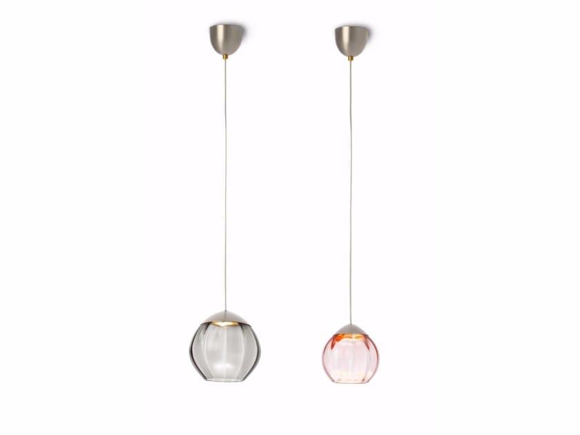 LED glass pendant lamp SOFT 59001 | Pendant lamp by ALMA LIGHT