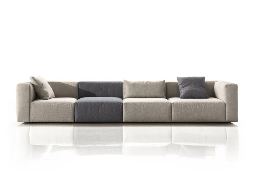 Modular fabric sofa SOFT | Modular sofa by Papadatos