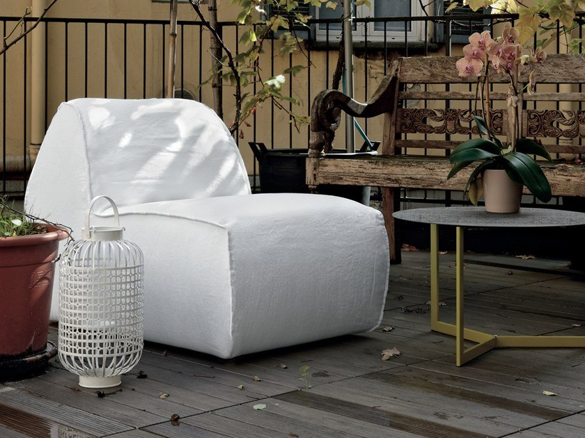 Fabric armchair SOFT by Gruppo Tomasella