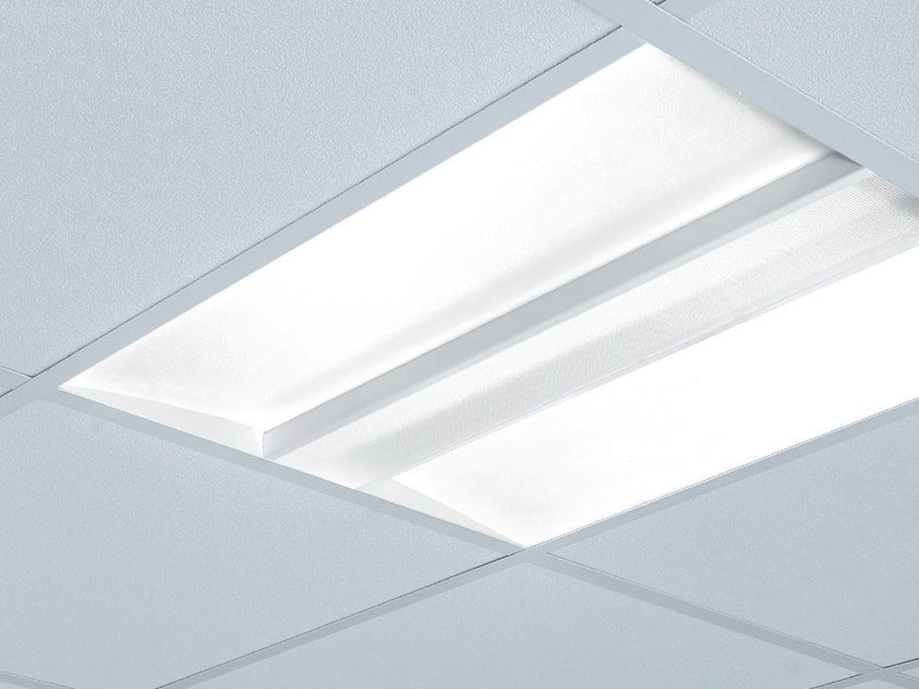 LED PMMA Lamp for false ceiling SOFY by Plexiform