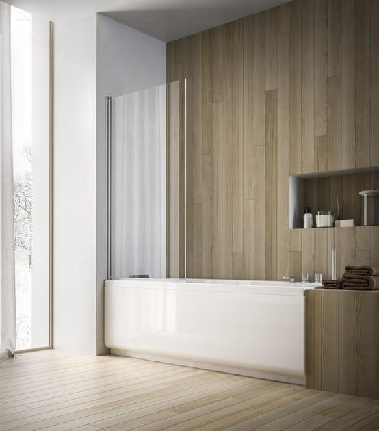 Glass bathtub wall panel SOHO MS by Glass1989