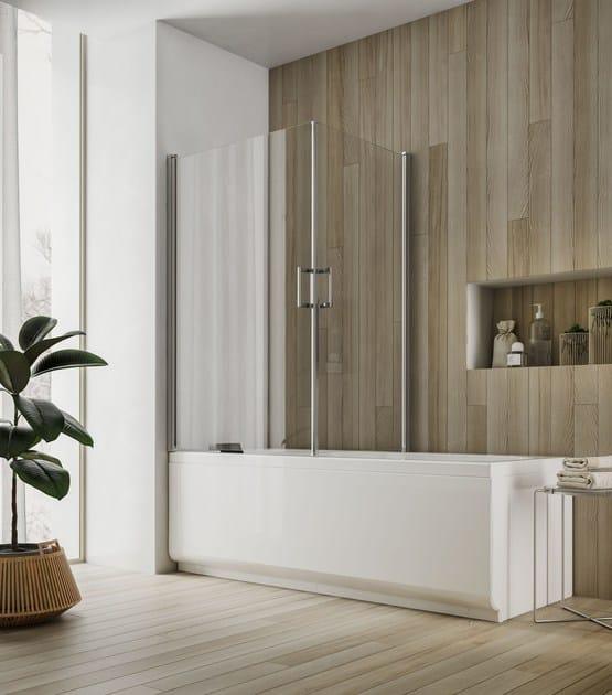 Glass bathtub wall panel SOHO MZ by Glass1989