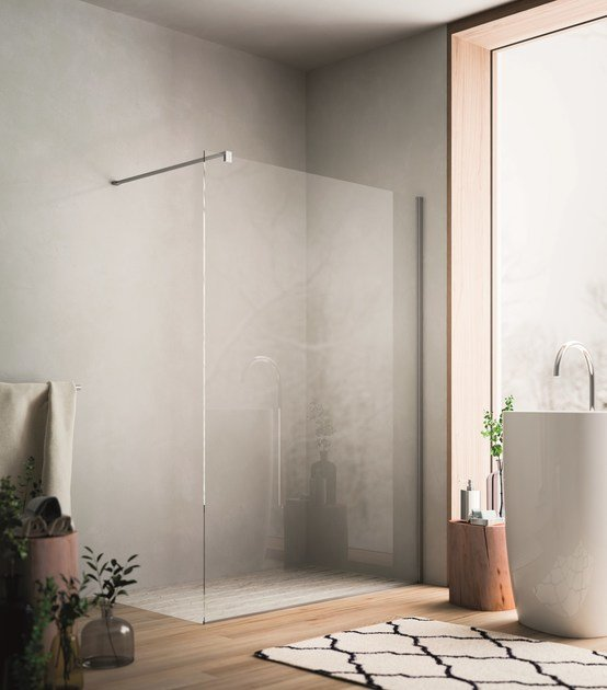 Crystal Walk in shower SOHO MK0 by Glass1989