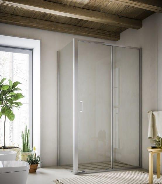 Corner shower cabin SOHO MO+MH by Glass1989