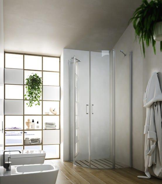 Semicircular shower cabin SOHO MR by Glass1989