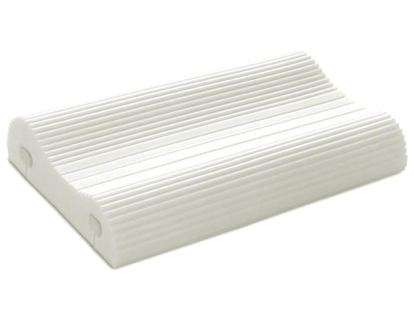 Rectangular memory foam cervical pillow SOIA MED by Manifattura Falomo