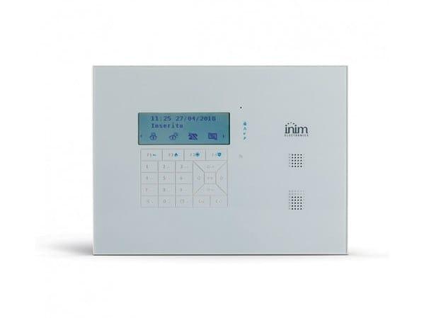 Centrale con pannello frontale con tastiera touch-sense Sol/G by INIM ELECTRONICS