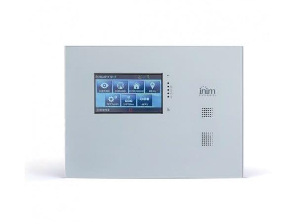 Centrale con pannello frontale con tastiera touchscreen Sol/P by INIM ELECTRONICS