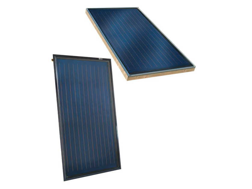 Forced circulation Solar heating system Built IN System by RIELLO