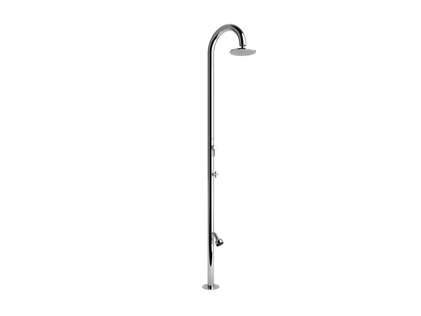 Stainless steel outdoor shower SOLE 60 ML BEAUTY by Inoxstyle
